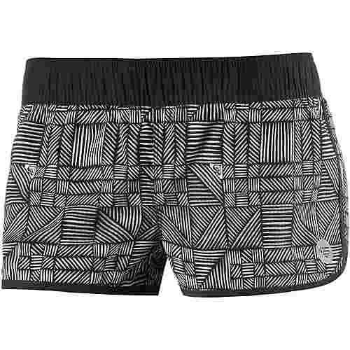 roxy endless summer badeshorts damen schwarz wei im online shop von sportscheck kaufen. Black Bedroom Furniture Sets. Home Design Ideas