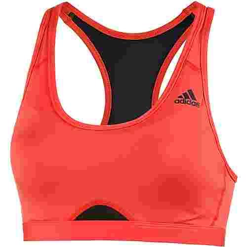 adidas Racerback Sport-BH Damen rot