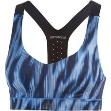 adidas CMMTTD CHILL Sport-BH Damen blau/schwarz