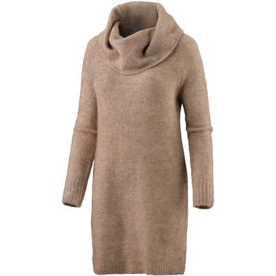 Only Strickkleid Damen camel