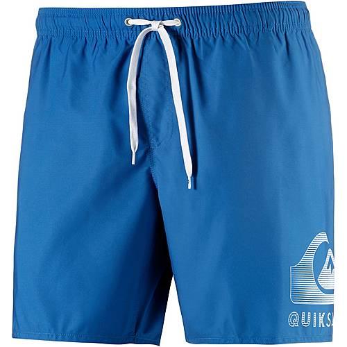 Quiksilver Action Logo Badeshorts Herren blau