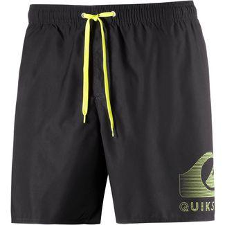 Quiksilver Action Logo Badeshorts Herren schwarz