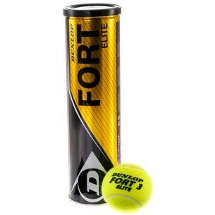 Dunlop Fort Elite Tennisball gelb
