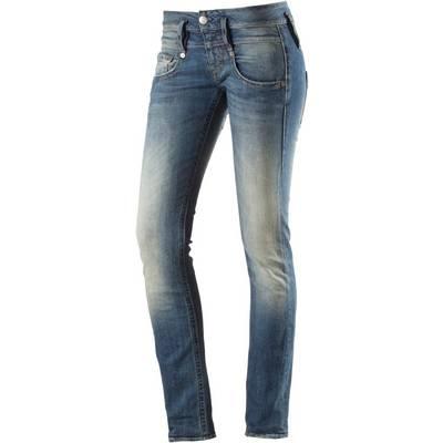 Herrlicher Pitch Skinny Fit Jeans Damen blue denim