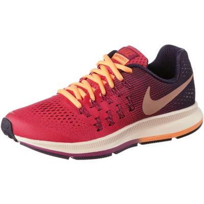 Nike Zoom Pegasus Laufschuhe Kinder koralle/schwarz