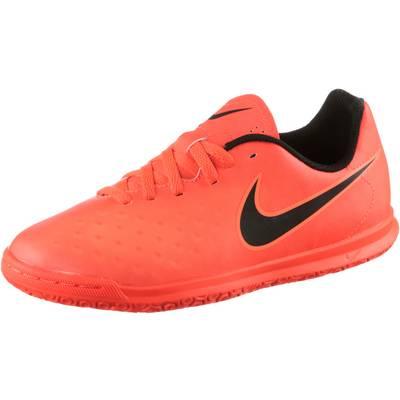 Nike JR MAGISTAX OLA II IC Fußballschuhe Kinder orange/schwarz