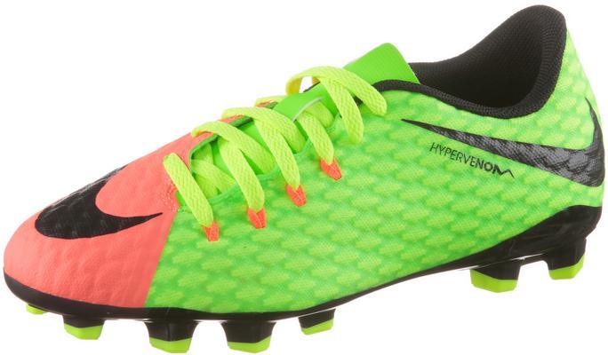Nike JR HYPERVENOM Phelon III FG Fußballschuhe Kinder Sale Angebote Pinnow-Heideland