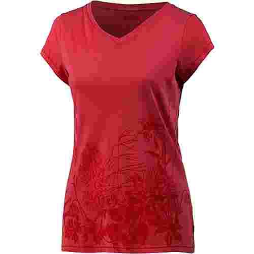 FJÄLLRÄVEN Meadow T-Shirt Damen rotorange