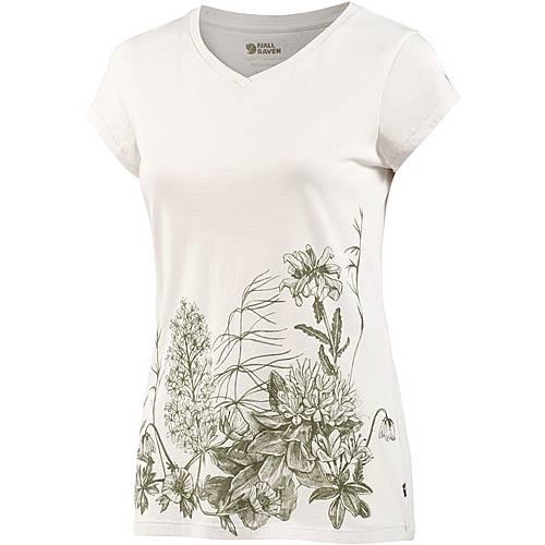 FJÄLLRÄVEN Meadow T-Shirt Damen weiß