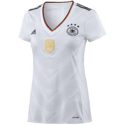 adidas DFB Confed Cup 2017 Heim Fußballtrikot Damen weiß