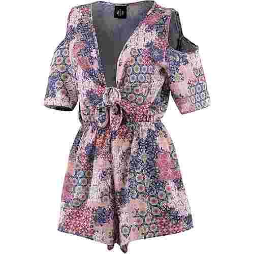 WLD Flower Bonnie Jumpsuit Damen rosa/pink/blau