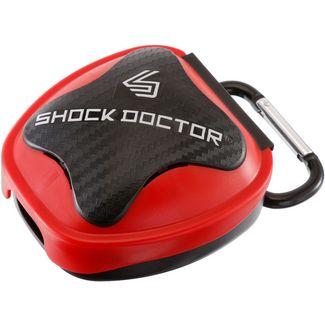 Shock Doctor Mundschutz rot