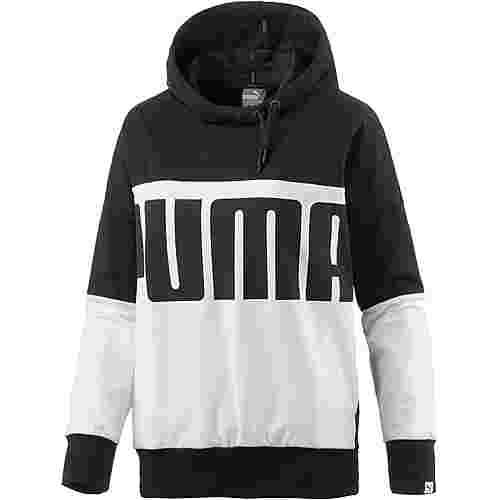 PUMA Style Rebel Hoodie Damen schwarz/weiß im Online Shop von SportScheck  kaufen