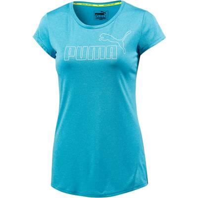 PUMA ACTIVE Essential T-Shirt Damen blau/melange