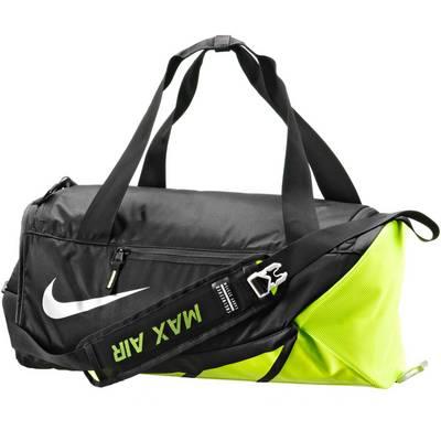 Nike Vapor Max Air Sporttasche Herren schwarz/gelb