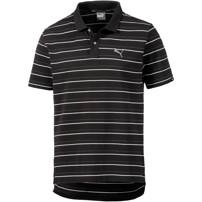 PUMA Sports Stripe Poloshirt Herren