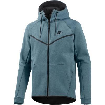 Nike Tech Fleece Hoodie Herren blau