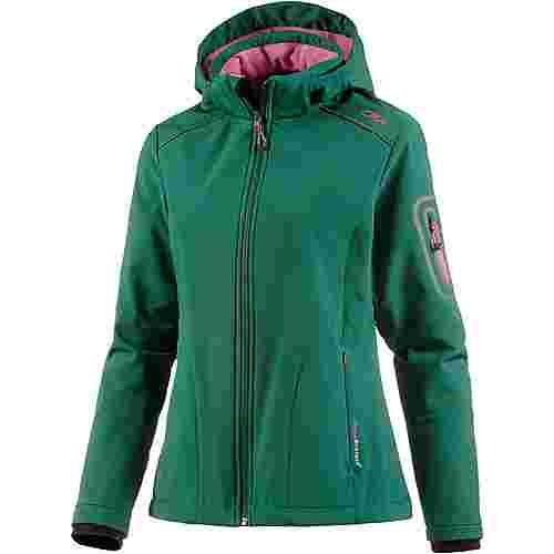 CMP Softshelljacke Damen dunkelgrün