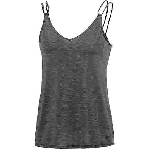 Nike Loose Strappy Tanktop Damen schwarz