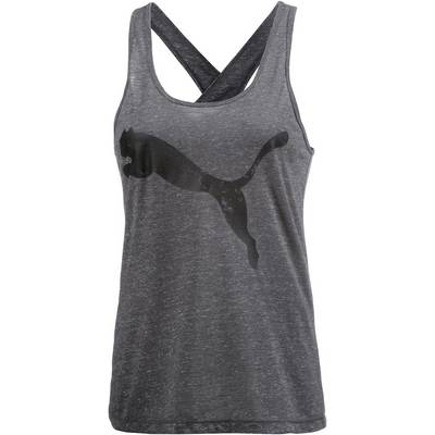 PUMA Essential Tanktop Damen grau/melange