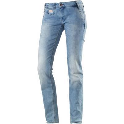 Herrlicher Vegas Skinny Fit Jeans Damen light denim
