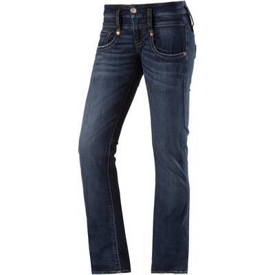Herrlicher Pitch Straight Fit Jeans Damen blue denim