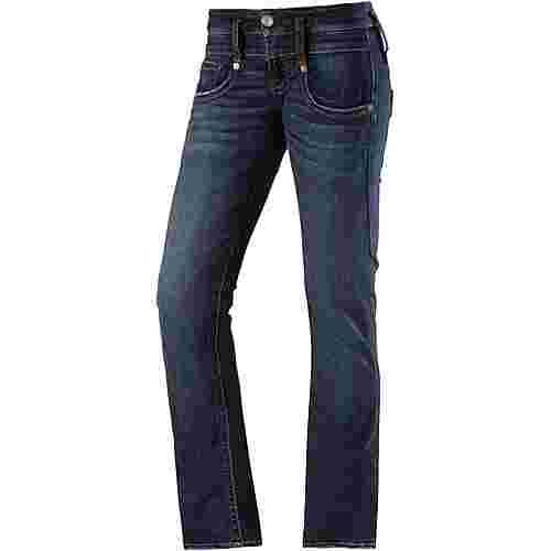 herrlicher pitch straight fit jeans damen blue denim im online shop von sportscheck kaufen. Black Bedroom Furniture Sets. Home Design Ideas
