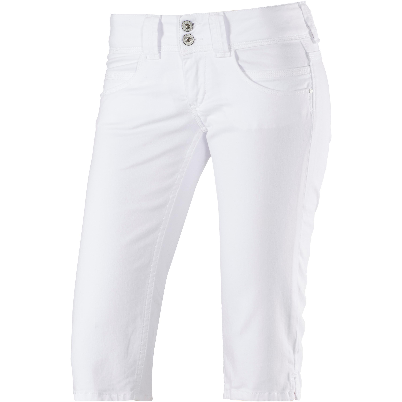 Pepe Jeans Venus 3/4-Jeans Damen in weiß, Größe: 29