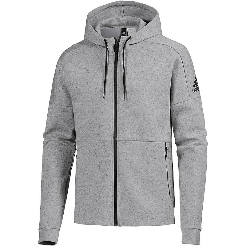 Adidas ID Stadium Sweatjacke Herren grau im Online Shop von ... 111984e75c