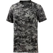 Nike Pro Hypercool Camo Funktionsshirt Herren grau