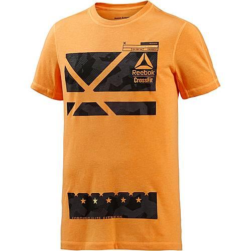 Reebok Crossfit Printshirt Herren orange