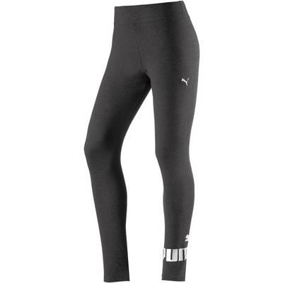 PUMA Essential Leggings Damen dunkelgrau-melange