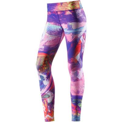 Reebok Electric Paradise Tights Damen lila/blau