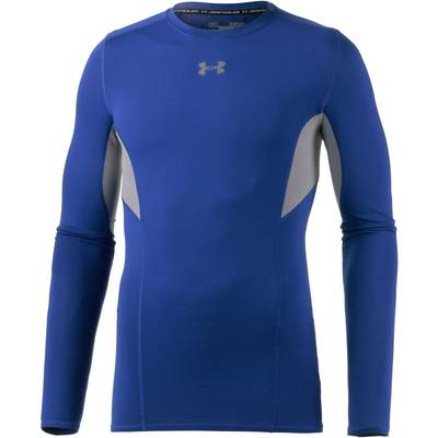 Under Armour HearGear CoolSwitch Kompressionsshirt Herren blau