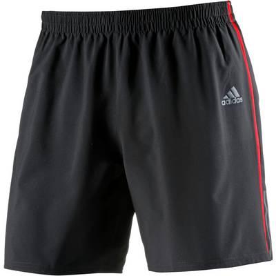 adidas Response Laufshorts Herren schwarz/rot