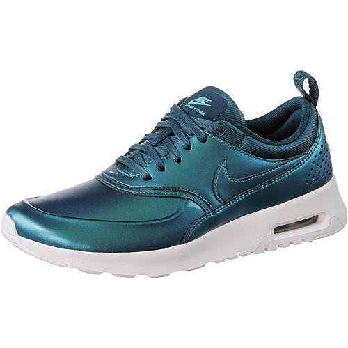 nike w air max thea sneaker damen metallic blau im online. Black Bedroom Furniture Sets. Home Design Ideas