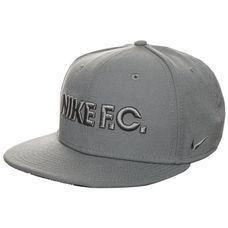 Nike F.C. True Cap grau