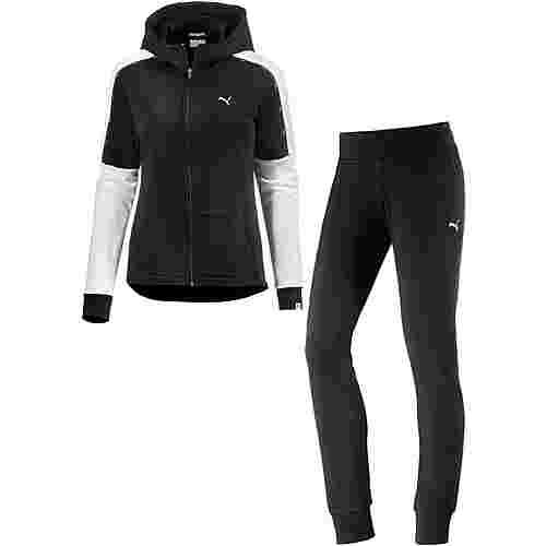 PUMA Trainingsanzug Damen schwarz im Online Shop von SportScheck kaufen