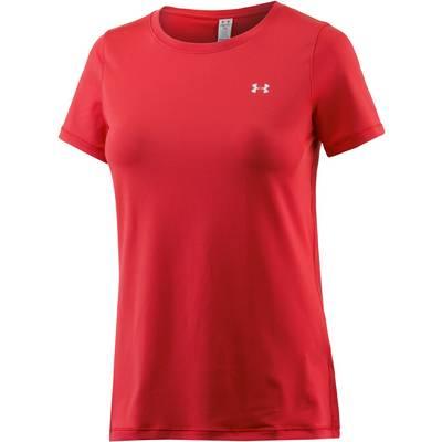 Under Armour Heatgear T-Shirt Damen rot