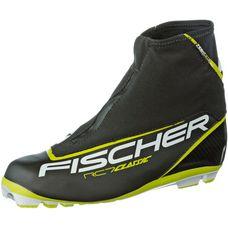 Fischer RC7 Classic Langlaufschuhe Herren schwarz/gelb