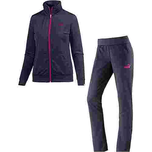 PUMA Trainingsanzug Damen dunkelblau/pink im Online Shop von SportScheck  kaufen