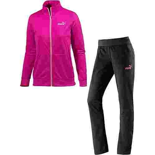 PUMA Trainingsanzug Damen schwarz/neonpink im Online Shop von SportScheck  kaufen