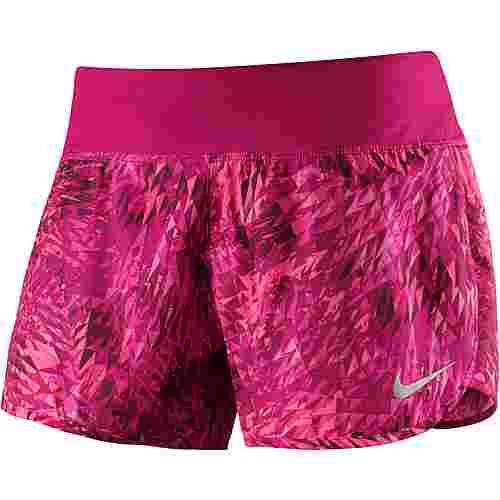 Nike Flex Rival Laufshorts Damen beere