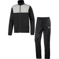 adidas Back2Basic Trainingsanzug Herren schwarz