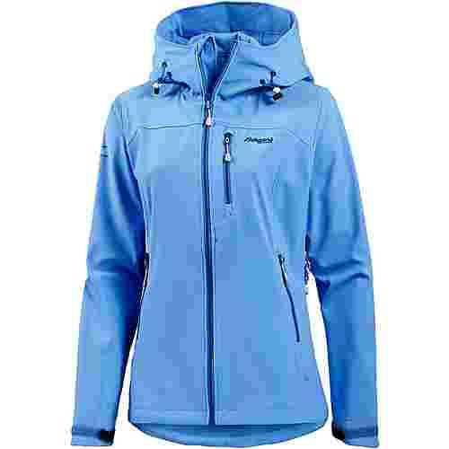 Bergans Stegaros Softshelljacke Damen hellblau im Online Shop von SportScheck kaufen