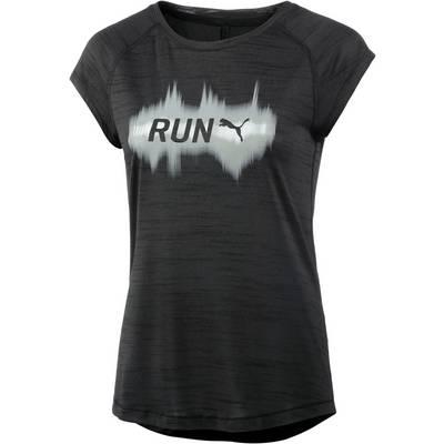 PUMA Run Laufshirt Damen schwarz
