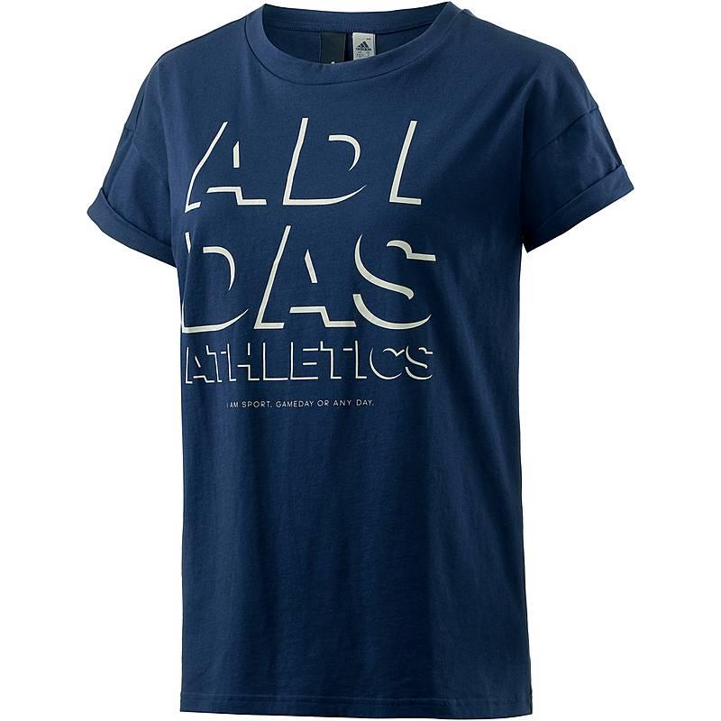 2f6ee66082bf56 Adidas T-Shirt Damen blau im Online Shop von SportScheck kaufen