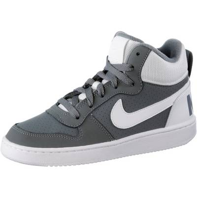 Nike Court Borough Sneaker Kinder grau