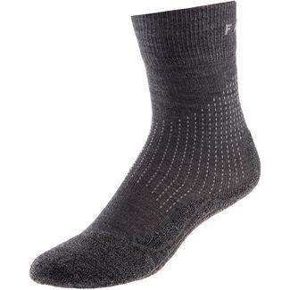 Falke Stabilizing Wool Kompressionsstrümpfe Damen asphalt melange
