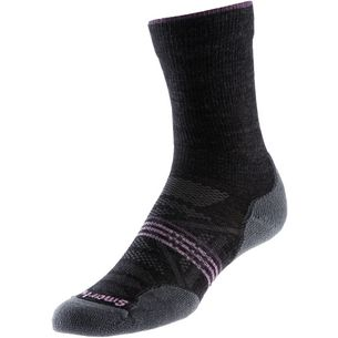 Smartwool Outdoor Light Crew Wandersocken Damen dunkelgrau